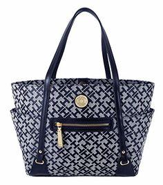 Tommy Hilfiger Womens Handbag, Shopper Tote Bag