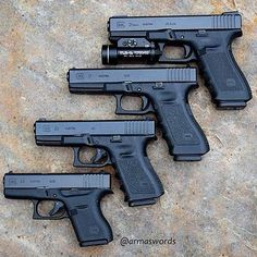 Manufacturer: Glock Mod. G21 - Caliber: 45 ACP Mod. G17 - Caliber: 9 mm Mod. G23 - Caliber: 40 S&W Mod. G43 - Calibre: 9 mmLoading that magazine is a pain! Get your Magazine speedloader today! http://www.amazon.com/shops/raeind