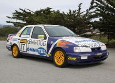 Bid for the chance to own a Deutsche Tourenwagen 1991 Ford Sierra Cosworth Group N at auction with Bring a Trailer, the home of the best vintage and classic cars online. Sport Cars, Race Cars, Ford Rs, Ford Sierra, Classic Cars Online, Rally, 4x4, Racing, Group