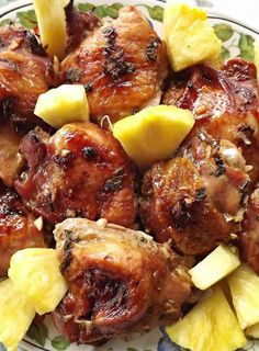 Recipe for Hawaiian Summer Chicken - Want to take a trip to Hawaii without having to leave your house? This Hawaiian chicken may just be able to help with that!