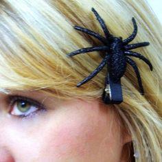 Halloween Spider Hair Clip