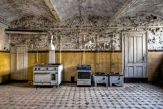 The abandoned buildings of the Eastern bloc: abandoned kitchen