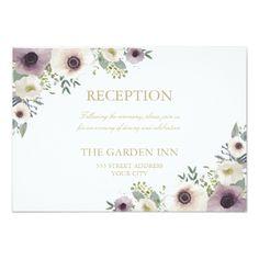 Romantic Garden Wedding Invitation Garden Delight Save the Date