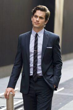 Matt Bomer aka Neal Caffrey. He looks spectacular in a suit!!