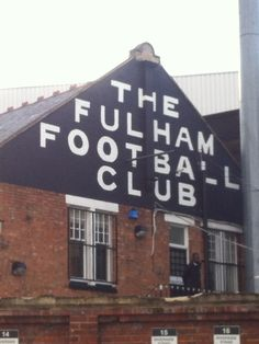 "Craven Cottage "" The Theatre of Dreams"""