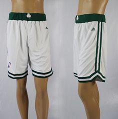 Adidas NBA Boston Celtics New Revolution 30 White Short Pant  22.99 1304e6ba43db
