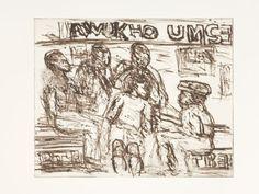 Unemployed by David Koloane | DAVID KRUT PROJECTS