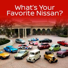For nearly a century, Nissan has brought to life the kinds of cars most people only dream about! What's your favorite Nissan? CHIME IN NOW!
