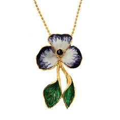 Flower necklace Pansè from Maria Sole collection #earrings #mariasole #fashion #design #unique #style #handmade #luxmadein #handmadejewelery #madeinitaly #italianstyle #earring #fashionista #outfit #accessories #ring #necklace #pendant