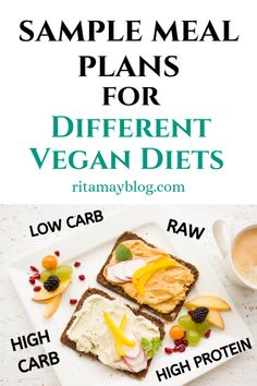 Vegan meal plans and cookbooks for different diets - With Ease Recipe For 6, Diet Recipes, Vegan Recipes, Different Diets, Vegan Meal Plans, Healthy Food To Lose Weight, Vegan Cookbook, Ketosis Diet, Mindful Eating