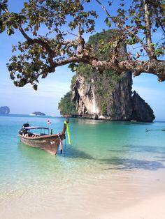 Thailand, Ao Nang near Krabi Places Around The World, The Places Youll Go, Places To See, Around The Worlds, Beautiful Places To Visit, Beautiful Beaches, Beautiful World, Patong Beach, Ao Nang