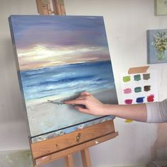 The Future Of Art – Investment Concepts – Buy Abstract Art Right Abstract Ocean Painting, Seascape Paintings, Landscape Paintings, Art Paintings, Beach Paintings, Amazing Paintings, Acrylic Painting Techniques, Diy Painting, Ocean Art