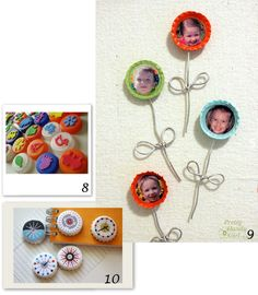 so easy ! Diy For Kids, Crafts For Kids, Diy Crafts, Tampons En Mousse, Upcycle, Deco, Aide, Gifts, Easy