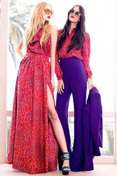 rachel zoe's resort 2012 collection. purple high waisted pants? yes. a million times yes.