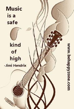 Music is a safe kind of high - Jimi Hendrix Sound Of Music, Music Tv, Art Music, Music Bands, Music Is Life, Poem Quotes, Music Quotes, Tattoo Quotes, Poems