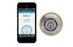 A Bluetooth-enabled lock for your house that opens at your touch.