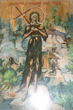 Image result for sfanta teodora de la sihla Byzantine Icons, Orthodox Icons, Christianity, Saints, Painting, Art, Google Search, Nun, Art Background