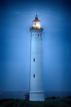 Lyngvig Lighthouse, Nørre Lyngvig, Midtjylland, Denmark