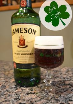 irish coffee - Nice after dinner.