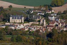 Photo aérienne de Montrésor - Indre-et-Loire (37)