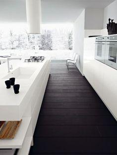 """Кухня в стиле минимализм в блоге """"Твой Дизайнер"""" Minimalist kitchen @ Tvoy Designer blog"""