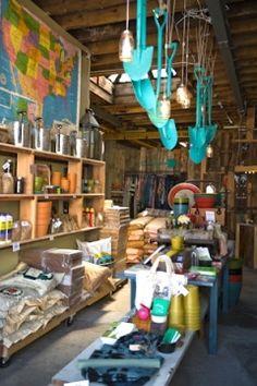 Brooklyn's Hayseed homestead pop-up shop - interior