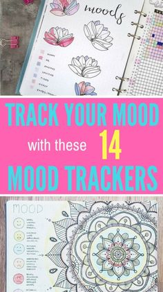 Try tracking your mood in your bullet journal with the help of these beautiful mood trackers!