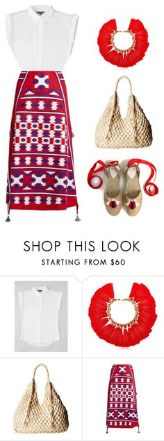 """""""To Belize and Back..."""" by wearvaughan ❤ liked on Polyvore featuring VANINA, Scully and Vita Kin"""