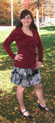 Ravelry: Project Gallery for #10 Draped Cardigan pattern by Norah Gaughan