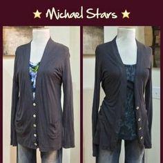 Michael Stars Sweaters - Michael Stars Supima Cardigan
