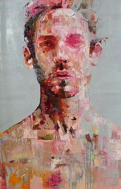 "Andrew Salgado Portraits | Andrew Salgado – ""Decade"" Oil on canvas 135 x 95 – 2013"