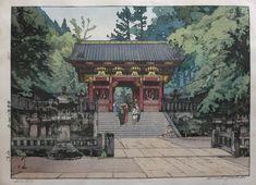 Yoshida: Gold Gate (kin mon) – Egenolf Gallery Japanese Prints