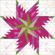 Feathered Pinwheel Star Block 4 Sizes   Craftsy