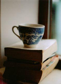 Never enough tea…or books.