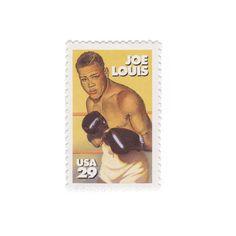 10 Unused Vintage Postage Stamps - 1993 29c Joe Louis - Item No. 2766 by vintagepostageshop on Etsy