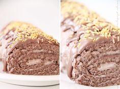 parasta kääretorttua ikinä | Vaaleanpunainen hirsitalo | Idealista Baking Recipes, Cake Recipes, Finnish Recipes, Bakery, Food And Drink, Yummy Food, Sweets, Snacks, Cooking
