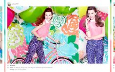 Summer Backdrop - Lilly Pulitzer