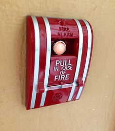 Fire Alarm Pull Station Doorbell Brand New by CreationsbyEmilee