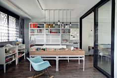 5 Awesome Design Ideas in this Three-room HDB flat | Home & Decor Singapore