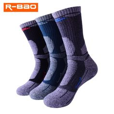 """Universe of goods - Buy PairsLot R-BAO 2018 New Thicken Outdoor Skiing Socks Men Breathable Thermal Terry Hiking Socks Male Mountaineer Sports Socks"""" for only USD. Socks World, Hiking Socks, Fishing Techniques, Important Facts, Sport Socks, Best Fishing, Skiing, Cool Things To Buy, Socks Men"""