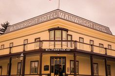 Heritage Park Calgary - A Stroll Through Canada's Past Wainwright Hotel