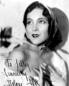 Dolores Del Río una actriz especial. La más hermosa de la historia del cine.
