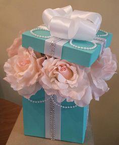 Centros de mesa de caja flor ideales para una por JayLeeDesign