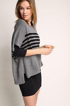 Esprit / oversized jumper with cashmere