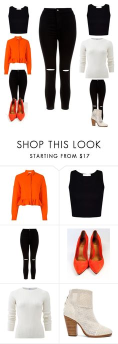 """Untitled #24"" by naghamahmed186 ❤ liked on Polyvore featuring MSGM, New Look, Fendi, Allude and rag & bone"
