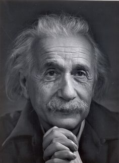 Albert Einstein (3/14/1879 - 4/18/1955) German-born theoretical physicist who developed the general theory of relativity, effecting a revolution in physics.