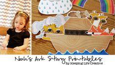Noah's Ark {Felt Story Set}  Free