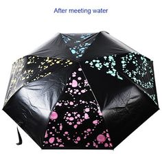 Advanced Yellow Rose Gold fashion print cute Windproof automatic tri-fold umbrella sun UV protection Sun umbrella