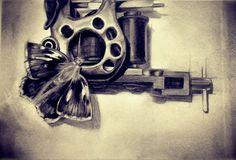 """tattoo machine"" drawing - Google Search"