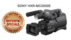 Offerta speciale! Sony HXR-MC2500E Ex-Demo a € 999,00+IVA Info:  https://www.adcom.it/it/ripresa-registrazione/camcorders-hd-hd-ready/1-4/sony-broadcast-hxr-mc2500e/1601381/p_u_14_347_2848_34865_223589 Il camcorder HXR-MC2500 ha un look professionale e uno stile di ripresa ideale per i matrimoni, le comunicazioni aziendali o le strutture del settore educativo.  Full HD e flash memory interna da 32 GB .
